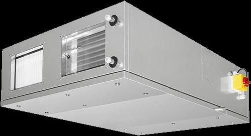 Ruck ETA luchtbehandelingskast met tegenstroom en elektrisch warmteregister 2430m³/h (ETA K 1600F EO JR)