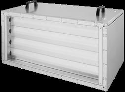 Ruck afvoer luchtbehandelingskast zonder regeling 8925m³/h - 1200x400 (SL 12040 E1 10 10)