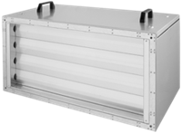 Ruck afvoer luchtbehandelingskast zonder regeling 2280m³/h - 600x300 (SL 6030 E1 10 10)