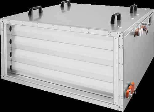 Ruck toevoer luchtbehandelingskast met regeling - PKW koeler 3790m³/h - 900x400 (SL 9040 E3J 11 10)