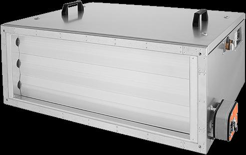Ruck toevoer luchtbehandelingskast met regeling - DV koeler 3290m³/h - 900x300 (SL 9030 E3J 22 10)