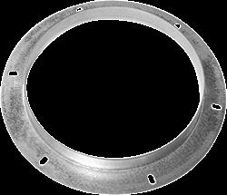 Ruck inlaatflens, gegalvaniseerd plaatstaal Ø 150 mm (DAF 150)