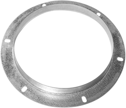 Ruck inlaatflens, gegalvaniseerd plaatstaal Ø 638 mm (DAF 710)