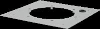 Ruck dakadapterplaat voor DVA (P) 450, 500, DVN(I) 450, 500, DHA(P) 450, 500 (DAP 450)