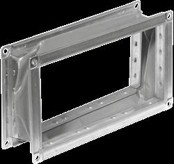 Ruck flexibel verbindingsstuk gegalvaniseerd plaatstaal 400 x 200 (VS 4020)