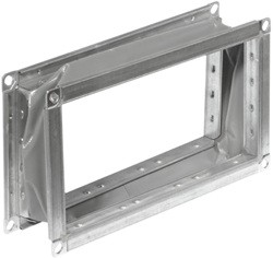 Ruck flexibel verbindingsstuk gegalvaniseerd plaatstaal 600 x 300 (VS 6030)