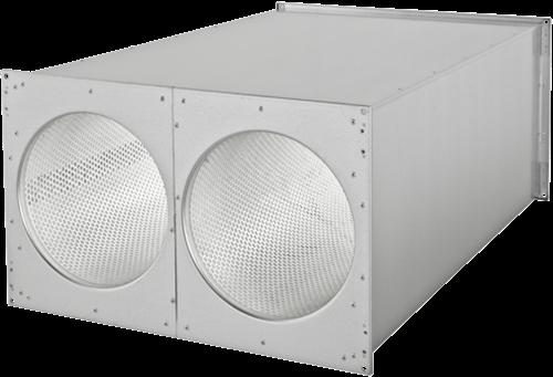 Ruck kanaal-geluiddemper 600x300 (SDE 6030 L02)