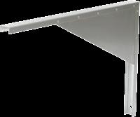 Ruck MPS 500 - 560 wandconsole, gegalvaniseerd plaatstaal (WK MPS 08)