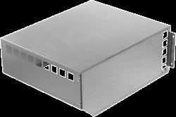 Ruck MPS 225 - 560 weerbestendige afdekkap, gegalvaniseerd plaatstaal (WSH MPS)
