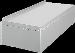 Ruck MPS 400 EC weerbestendige afdekkap, gegalvaniseerd plaatstaal (WSH MPS EC 03)