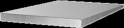 Ruck regendak voor ISOR 315 - 355, gegalvaniseerd staal (RD ISOR 02)