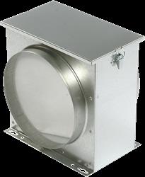 Ruck luchtfilterbox met vliesfilter Ø 160 (FV 160)