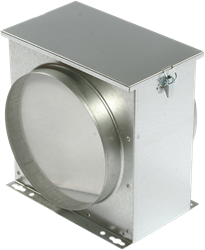 Ruck luchtfilterbox met vliesfilter Ø 250 (FV 250)