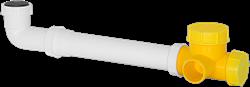Ruck kogelsifon D4 voor ETA 600 H, 1200 H, 2400 H (SYS 01)