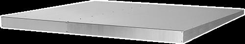 Ruck ETA 1200 H regendak, gegalvaniseerd staal (RD ETA 1200 H)