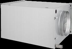 Ongeïsoleerde DX verwarmingsbatterij - rechts (DVR 250 01)