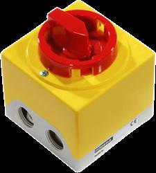 Ruck 6-polige apparaatschakelaar (GS 02)