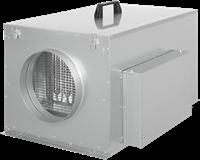 Ruck compacte luchttoevoerunit met verwarmingsbatterij en EC-motor 580m³/h - Ø160 (FFH 160 EC 10)