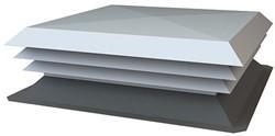 NASO-H aluminium dakkap 500x400