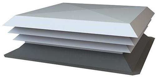 NASO-H aluminium dakkap 900x400