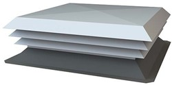 NASO-H aluminium dakkap 1100x400
