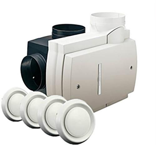 Orcon Compact 10P + 4 ventielen