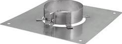 Plafondplaat diameter  600 mm met beugel I304 (D1,5)