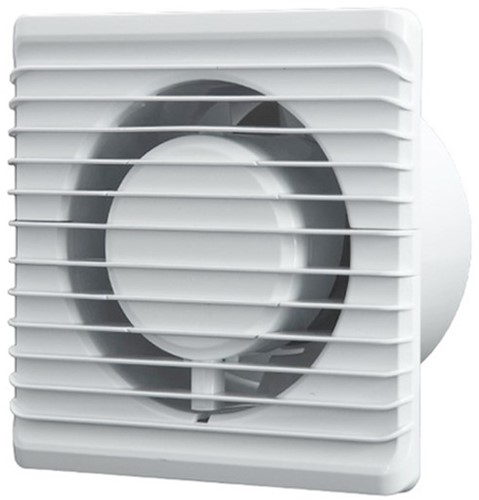 Badkamerventilator 100 mm Wit - energy planet 100HS