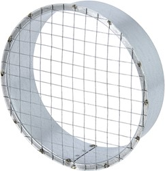 Buisrooster diameter  100 mm vlak