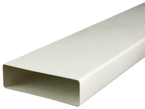 Rechthoekig kunststof ventilatiekanaal 220X55mm L=1000mm