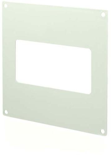 Rechthoekige kunststof muurflens 110x55 - KF