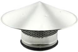 Spiro-SAFE regenhoed met gaas Ø 315 mm (sendz. verz.)