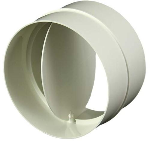 Ronde kunststof terugslagklep diameter: 100mm - AV100