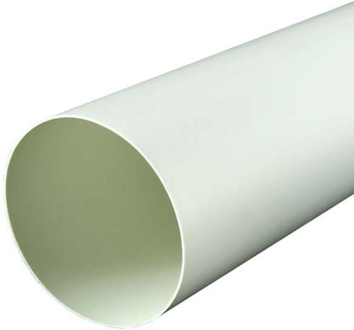 Ronde kunststof ventilatiebuis Ø125mm L=1000 mm 125-1