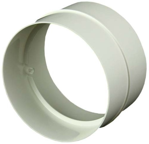 Ronde kunststof verbinding voor buis diameter: 125 mm - AS125