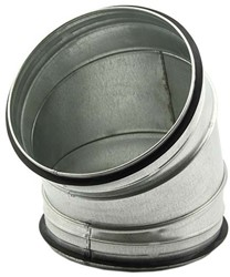 Spiro-SAFE bocht 150 mm 45 graden (sendz. verz.)