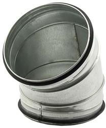 Spiro-SAFE bocht 400 mm 45 graden (sendz. verz.)