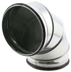 Spiro-SAFE bocht 450 mm 90 graden (sendz. verz.)