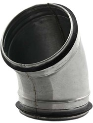 Spiro-SAFE bocht 80 mm 45 graden (sendz. verz.)