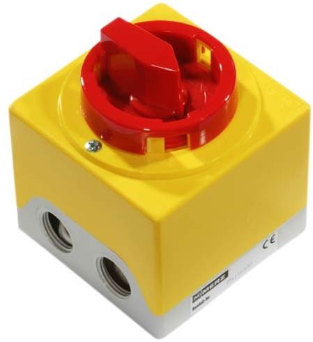 Ruck 3-polige apparaatschakelaar (GS 01)