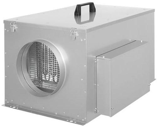 Ruck compacte luchttoevoerunit met verwarmingsbatterij en EC-motor 1240m³/h - Ø250 (FFH 250 EC 10)