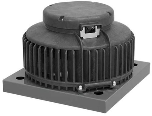 Ruck kunststof dakventilator met constante drukregeling en EC motor- 1370m³/h (DHA 250 EC CP 20)