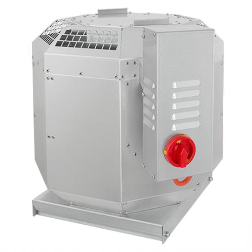 Ruck dakventilator voor keukenafzuiging tot 120°C - 3000 m³/h (DVN 280 E2 30)