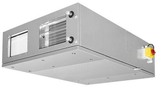Ruck ETA-F WTW luchtbehandelingskast met tegenstroom en PWW verwarmer 740 m3/h Rechts
