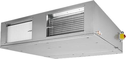 Ruck ETA-F WTW luchtbehandelingskast met tegenstroom en elektrisch warmteregister 1375 m3/h Links