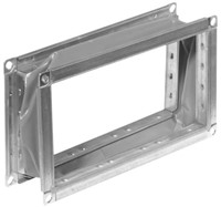 Ruck flexibel verbindingsstuk gegalvaniseerd plaatstaal (P 30) 1200 x 600 (VS 12060)