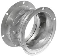 Ruck flexibele dakaansluiting, gegalvaniseerd plaatstaal Ø 183 mm (DAS 180)