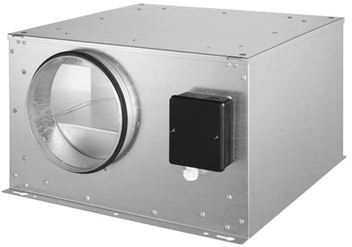 Ruck geïsoleerde boxventilator 390m³/h -Ø  150 mm (ISOR 150 E2 20)