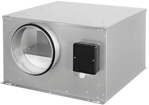 Ruck geïsoleerde boxventilator met EC-motor 590m³/h -Ø 160 mm (ISOR 160 EC 20)