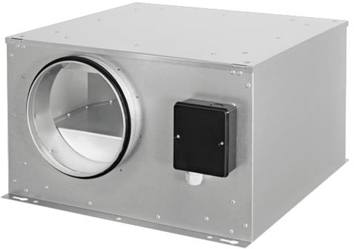 Ruck geïsoleerde boxventilator met EC-motor 840m³/h -Ø 200 mm (ISOR 200 EC 20)